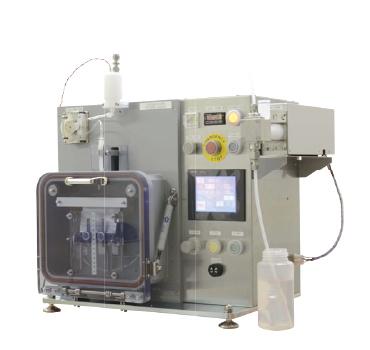 Vacuum filling device