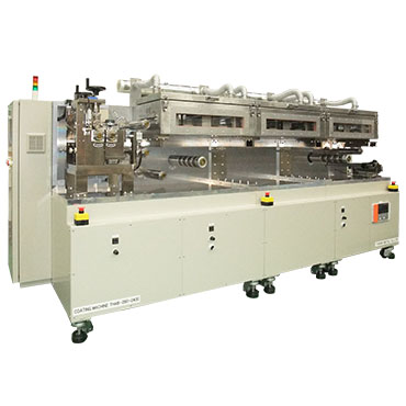 Compact precision coater - 3-roll system